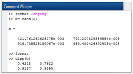 "Formatting floating point numbers using ""longEng"" and default format"