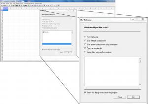 Interface of the comprehensive meta analysis (CMA) software