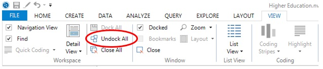 Figure 10: Use 'View' option to view report on separate window
